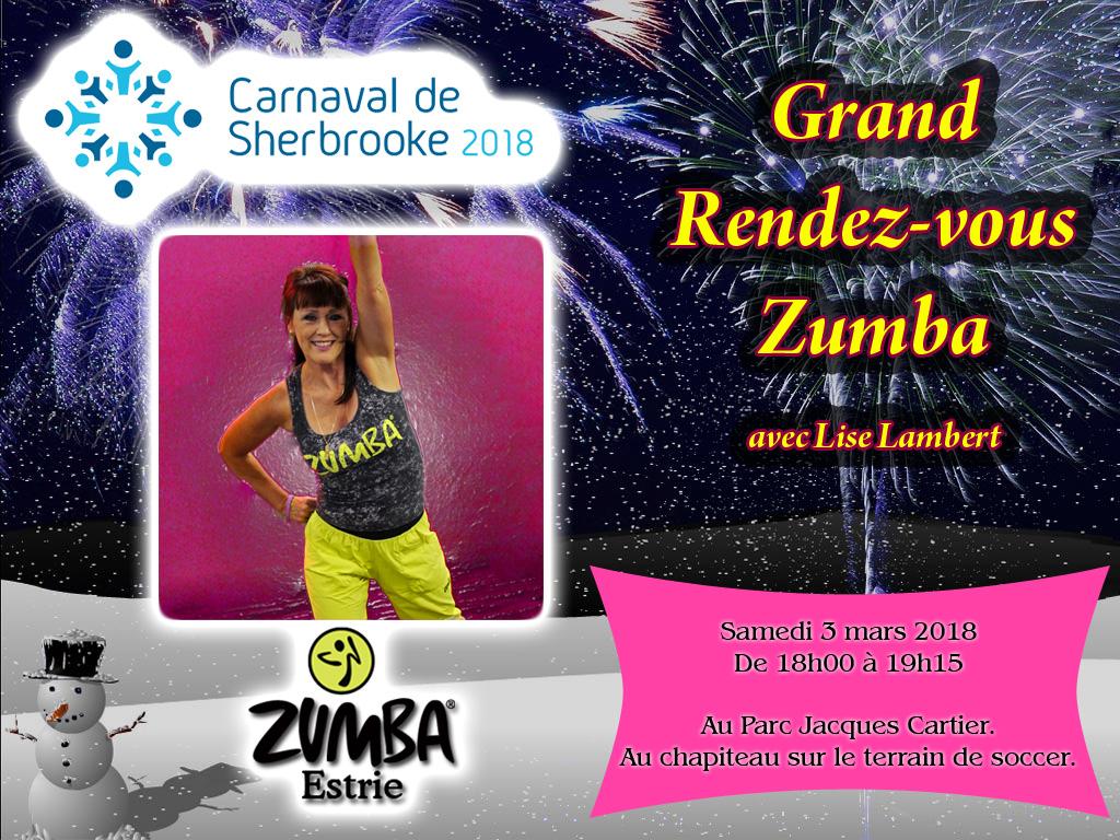 Zumba Estrie au Carnaval de Sherbrooke
