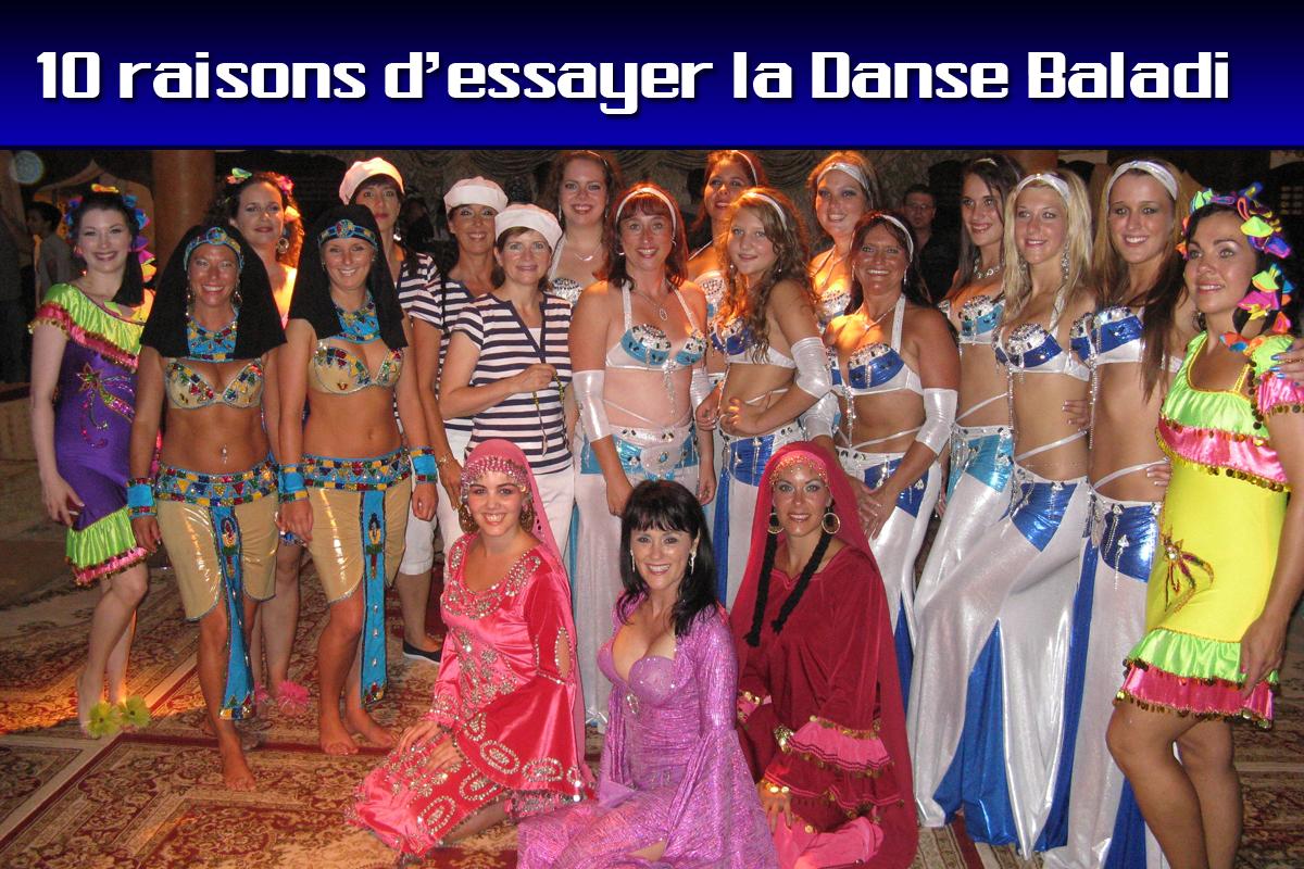 10 raisons d'essayer la danse baladi